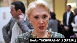 Русудан Кервалишвили - одна из немногих женщин в грузинском законодательном органе