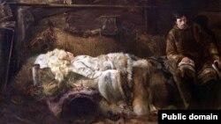 Яцэк Мальчэўскі «Сьмерць Эленаі» (1907)