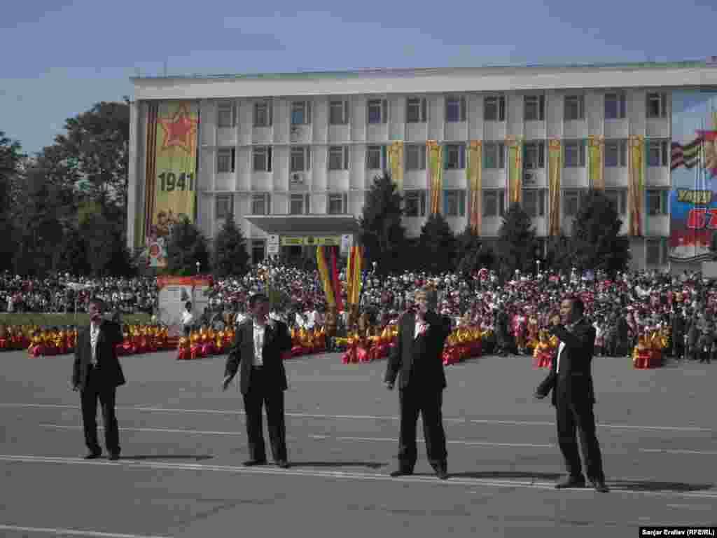 В Оше торжественно отметили День Победы