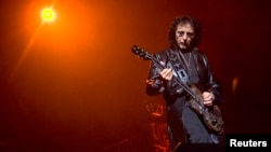 Legendary Black Sabbath guitarist Tony Iommi