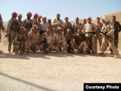 Members of the Sinjar Resistance Units (YBS)