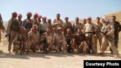 عناصر من قوات مقاومة سنجار