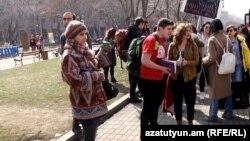 Կանանց ակցիա, Երևան, 8-ը մարտի, 2017 թ․