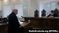 Свідок у кримінальному провадженні щодо вбивства народного депутата Євгена Щербаня Ігор Мар'їнков, Київ, 14 лютого 2013 року