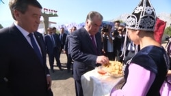Tajik And Kyrgyz Presidents Meet In Exclave After Violence