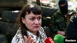 Главный редактор украинского телеканала Ирма Крат.