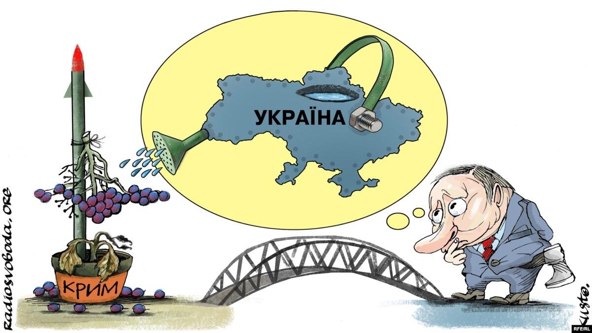 «Воду в Крым можно подавать только после его деоккупации» – Виктор Каспрук