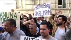 Azerbaijani Police Block Sanctioned Rally