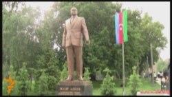 Belqradda Heydər Əliyevin heykəli açılıb