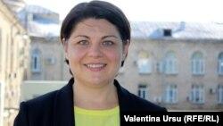 Premierul desemnat Natalia Gavrilița
