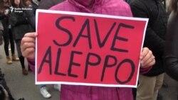Protest u Podgorici: Stop ubijanju civila u Siriji