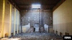 فضای داخلی کلیسای ادونتیست که در سال ۱۳۹۴ تخریب شد
