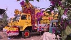 رنگارنگ ترین کامیون های جهان