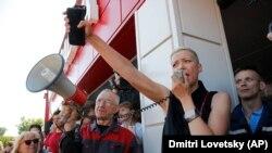 Колесникова е едно от ключовите лица на протестите в Беларус