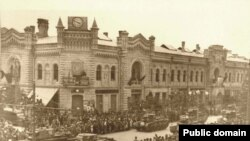 Parada militară sovietică la Chișinău (28 iunie 1940)
