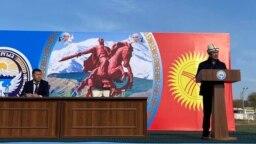 Садыр Жапаров Баткен облусунда. 3-ноябрь, 2020-жыл.