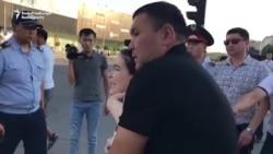 Detentions In Kazakhstan On Ex-Ruler's Birthday
