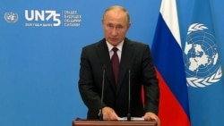 In UN Speech, Putin Calls For Nuclear, Chemical, Space Weapons Cuts
