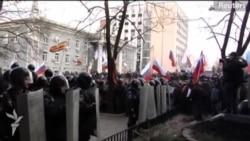 Donetskdə prokurorluğun binası zəbt olunur