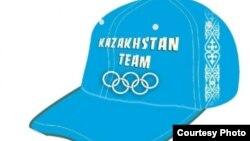 Лондон олимпиадасына катышкан казак командасынын бейсболкасы