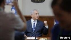 Премьер-министр Израиля Биньямин Нетаньях