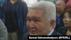 Феликс Кулов в Первомайском районном суде Бишкека, 13 июля 2017 г.