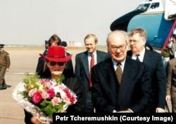 Мадлен Олбрайт, Госсекретарь США (1997-2001). Из личного архива Петра Черёмушкина