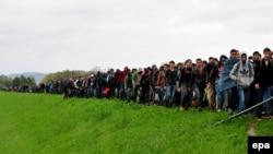 Евробиримдикке Балкан өлкөлөрү аркылуу кирген мигранттардын көбү Германияга жетүүгө умтулушат.