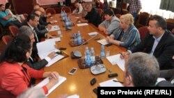 Radnici Metalca na skupštinskom odboru