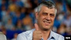 Косово Демократик партияси лидери Ҳошим Тачи.