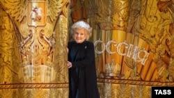 Елена Образцова на сцене Большого театра