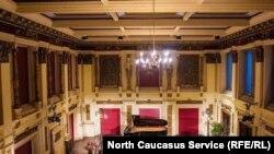 Концертный зал венской консерватории (Вена, Австрия)