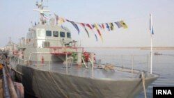 Iran -- According to unverified reports, An Iranian destroyer Jamaran has opened fire on one of its own warships Konarak (In the photo) by accident, causing 'dozens of casualties' in the Sea of Oman.