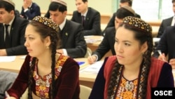 Turkmen students have to be in bed by 11 p.m.
