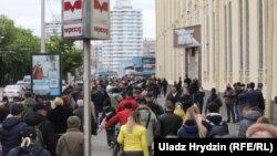Статкевіч ехаў на пікет ля Камароўскага рынка ў Менску