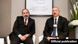 Հայաստանի վարչապետն ու Ադրբեջանի նախագահը Դավոսում, արխիվ