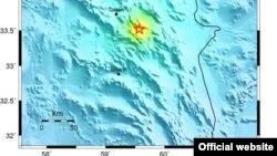 زهان؛ عکس از مرکز زمینشناسی آمریکا