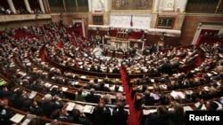 Зал заседаний Национального Собрания Франции