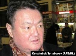 Заманбек Нуркадилов, оппозиционный политик. Алматы, 3 февраля 2005 года.