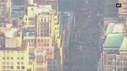 La New York a fost arestat un suspect după o explozie la unul din cele mai aglomerate terminale de transport din Manhattan
