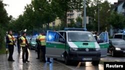 Машина полиции в Германии