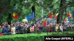 La protestul de duminică împotriva planurilor de schimbare a sistemului electoral