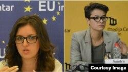 Adrijana Hanušić i Sandra Orlović