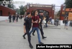 Задержания 12 июня в Москве