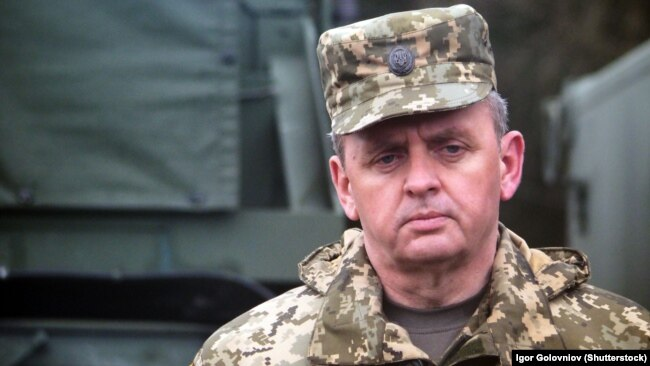 Віктор Муженко, начальник Генерального штабу ЗСУ у 2014–2019 роках