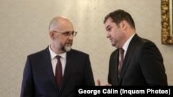 Kelemen Hunor (stânga) cu Cseke Attila, cel care a contribuit cel mai mult financiar la campaniile electorale UDMR din 2020