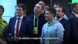 'There Needs To Be Change' -- Ukrainian Voters Put President's Party On Course For Historic Parliamentary Majority