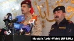 من اليمن: اللواء علي الغريري وقائد عمليات الفرات الاوسط عثمان الغانمي