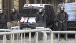 Новые многотысячные протесты в Барселоне. Пучдемон и каталонцы