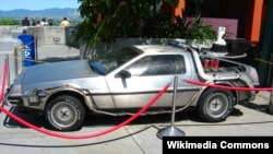 "The Iranian device sounds slightly more modest in scale than the time-traveling DeLorean from ""Back to the Future,"" with its inventor claiming it can fit into a small case."